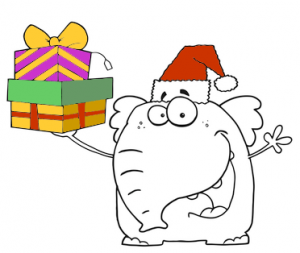 Holiday White Elephant Gift Exchange Party! - Cartoonists ... White Elephant Christmas